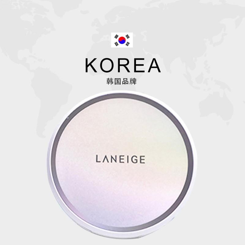 香港直邮 LANEIGE兰芝气垫隔离防晒BB霜暖色系13号/个(送替换芯)