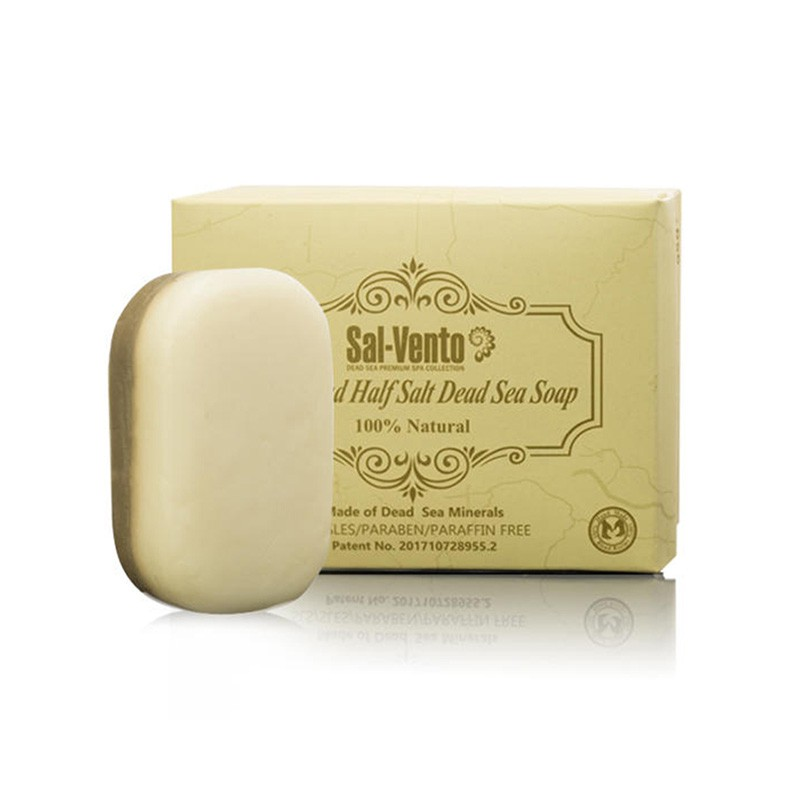 以色列原装进口半盐半泥死海皂·7块