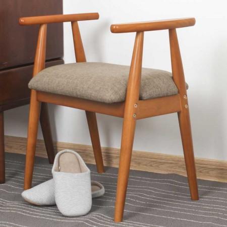 英国英尼斯INNESS 原装进口橡胶木换鞋凳