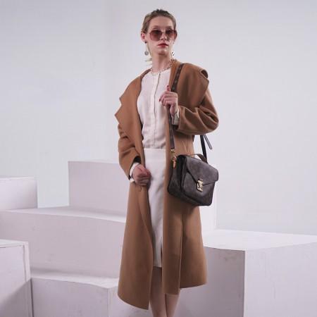Prolivon高端定制款纯羊毛大衣·驼色