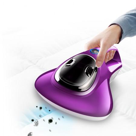 宝家丽无绳无线除螨仪家用螨虫吸尘器小型手持床铺杀菌机UV-W005