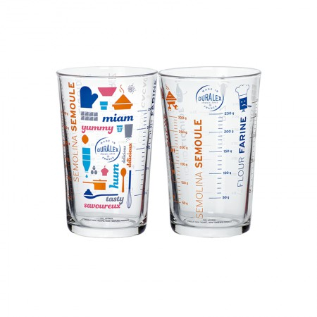 法国Duralex多莱斯 法国原装进口 多功能量杯套装