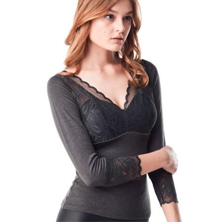 BC蓄热百搭塑形保暖内衣 送黑色保暖内衣无袖款·灰色