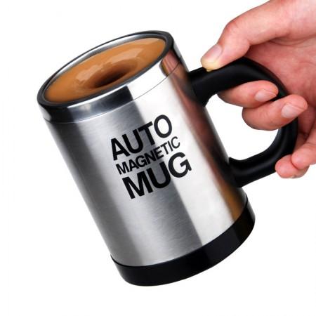 全自动不锈钢便捷搅拌磁化杯·400ML  不锈钢色  不锈钢色  不锈钢色  不锈钢色  不锈钢色
