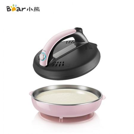 小熊(Bear)薄饼机煎饼铛煎饼锅煎饼卷皮机迷你电饼铛DBC-A06D1·粉色