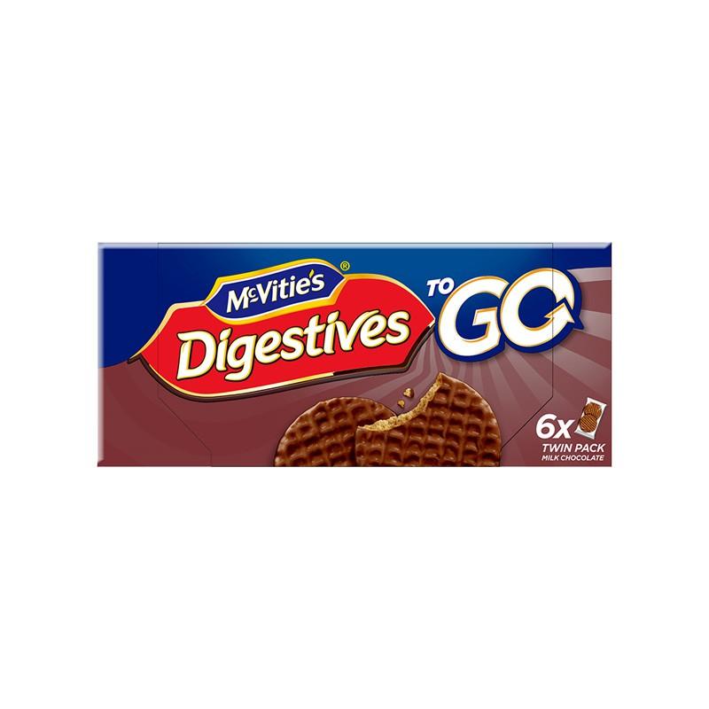 英国麦维他进口全麦消化饼干分享装