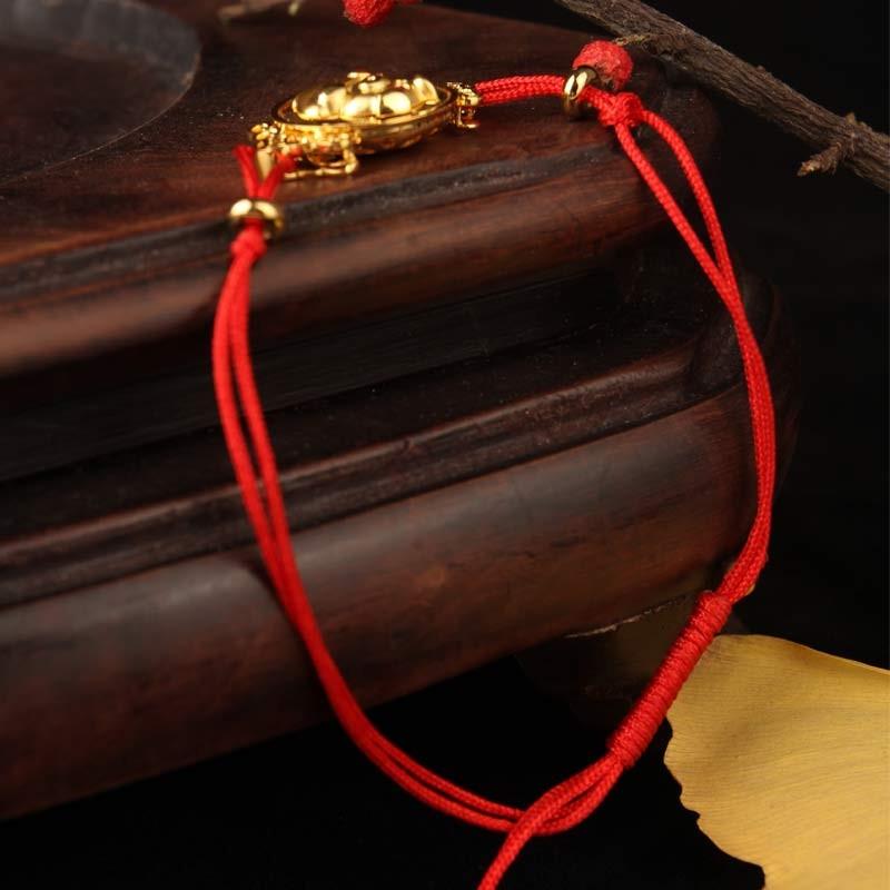 福运双至18K金好运猪·红绳款