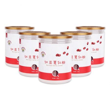 五谷食尚红豆薏仁粉 500g*5罐