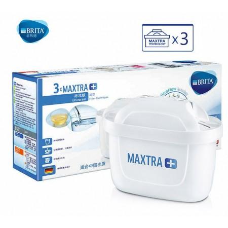 BRITA碧然德 滤水壶Maxtra标准版滤芯3枚装·白色