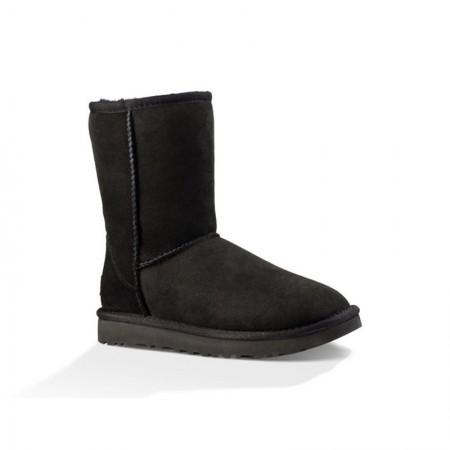 美国UGG Angelababy代言休闲经典款中筒靴雪地靴·经典黑色