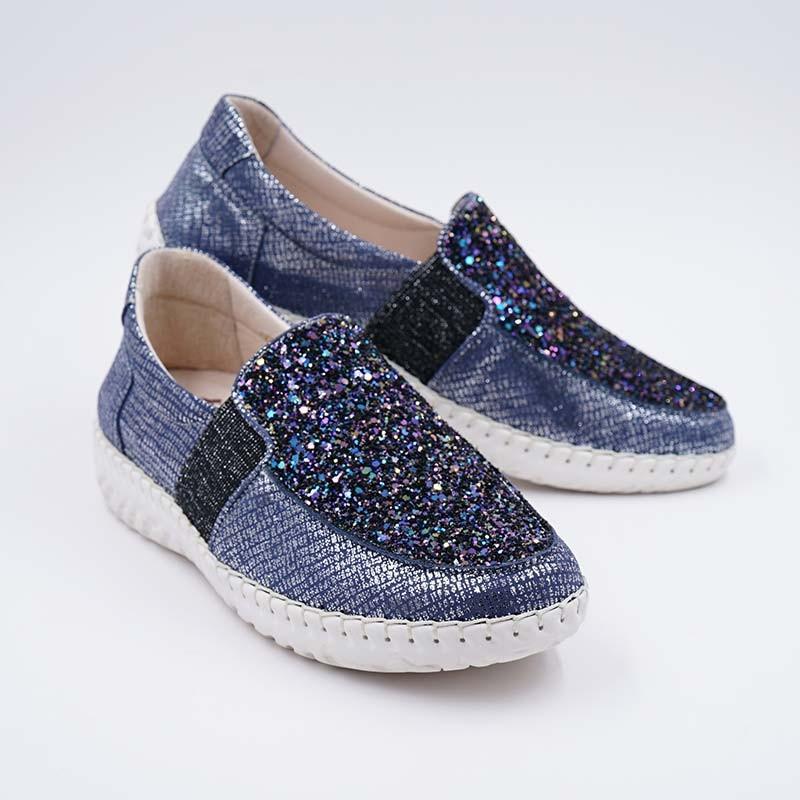 诺曼地繁星璀璨球囊机能鞋·蓝紫