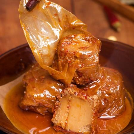 古蜀味道 风味豆腐乳258g*5瓶装(红油3+辣白菜2) 手工制作 大邑特产